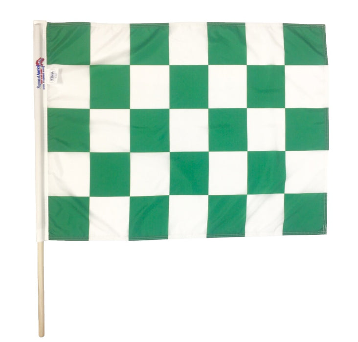 NASCAR Green Checkered Flag Flagman of America