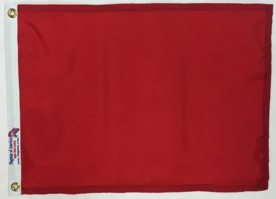 solid color golf flag for sale - made in usa - flagman of america