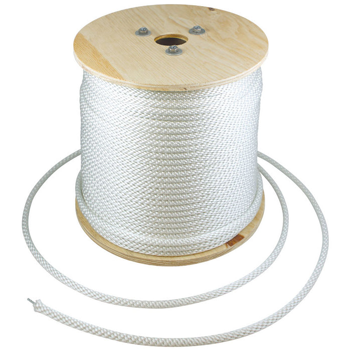 White Nylon Halyard - Wire Center - Wholesale Per Spool