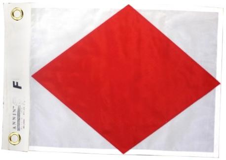 Signal Flag F for sale