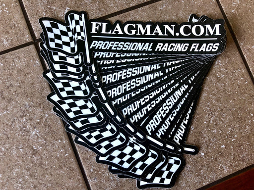 Flagman of America Checkered Decal
