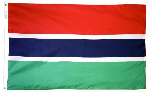Gambia Outdoor Flag for Sale