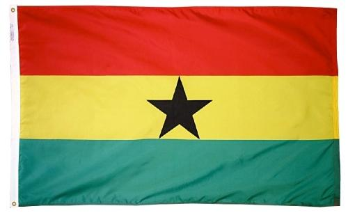 Ghana Outdoor Flag for Sale