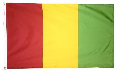Guinea outdoor flags for sale