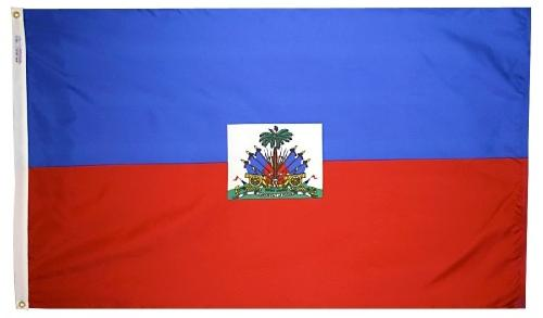 Haiti Government outdoor flag for sale