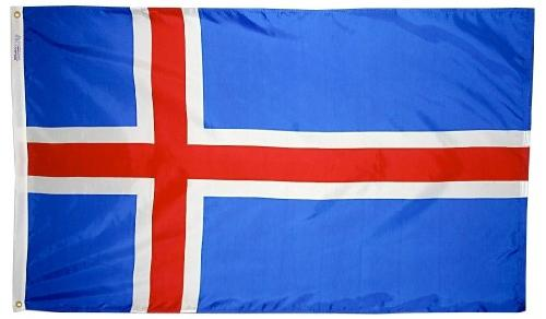 Iceland outdoor flag for sale