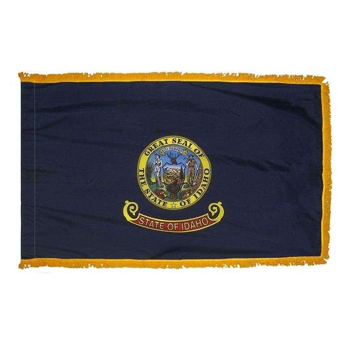 Idaho Flag with Fringe | Idaho Indoor Flag | Idaho Parade Flag