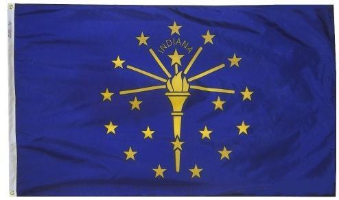 Indiana Outdoor Flag for Sale - Flags made in USA - Flagman of America