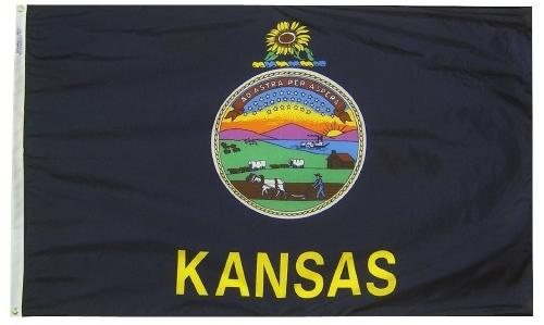 Kansas Flag For Sale - Commercial Grade Outdoor Flag - Made in USA