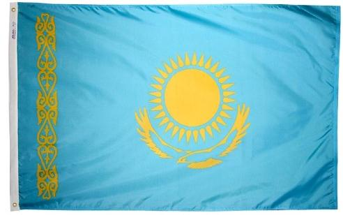 Kazakhstan outdoor flag for sale
