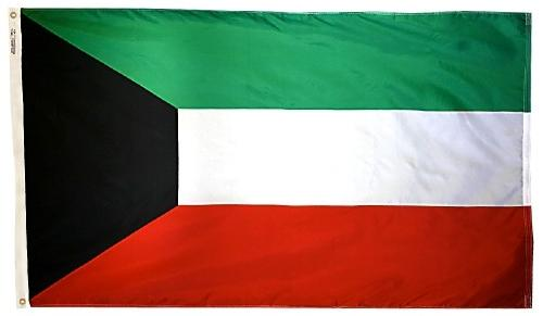Kuwait outdoor flag for sale