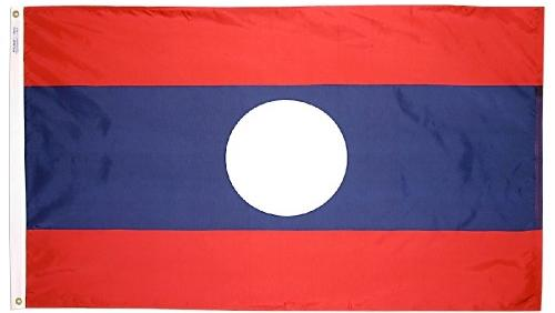 Laos outdoor flag for sale