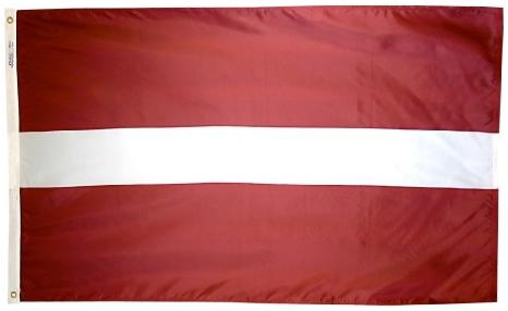 Latvia outdoor flag for sale