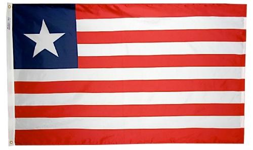 Liberia outdoor flag for sale
