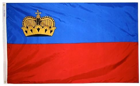 Liechtenstein outdoor flag for sale