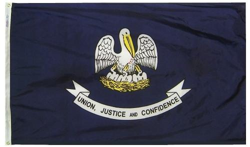Louisiana Flag For Sale - Commercial Grade Outdoor Flag - Made in USA