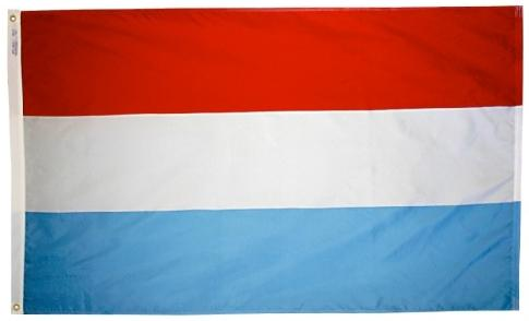 Luxembourg outdoor flag for sale
