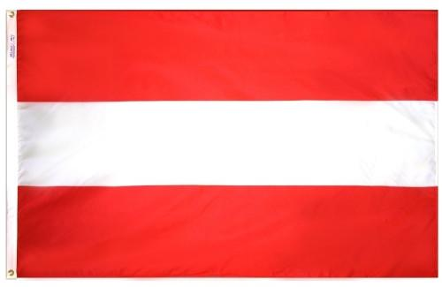 Austria (No Seal) Outdoor Flag