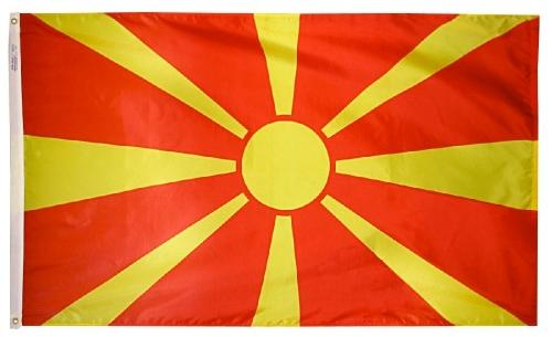 Macedonia outdoor flag for sale