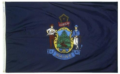 Maine Flag for Sale - Flags made in USA - Flagman of America