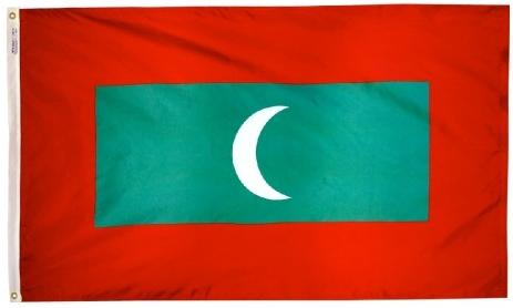 Maldives outdoor flag for sale