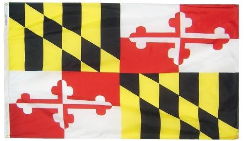 Maryland Flag For Sale - Commercial Grade Outdoor Flag - Made in USA
