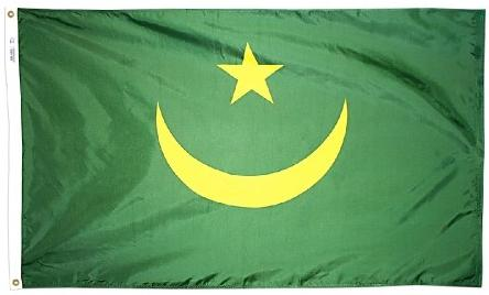 Mauritania outdoor flag for sale