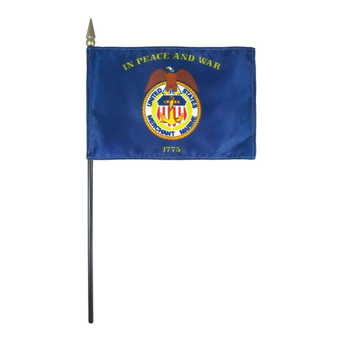 Mini Merchant Marine Flag | Miniature Merchant Marine Flag