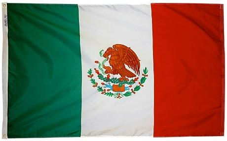 Mexico outdoor flag for sale