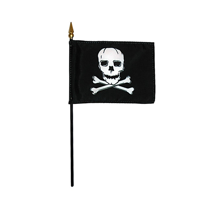 "4""x6"" Jolly Roger Flag"