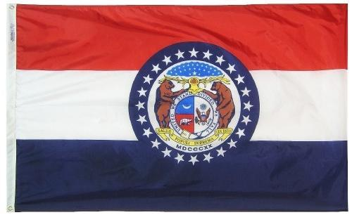 Missouri Flag For Sale - Commercial Grade Outdoor Flag - Made in USA