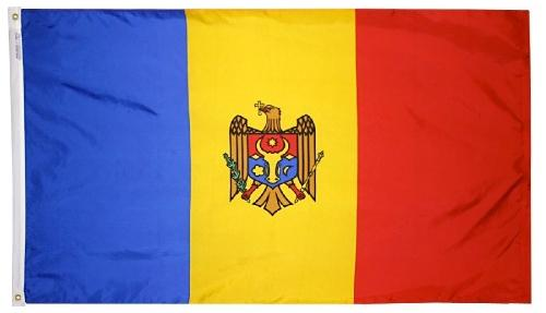 Moldova outdoor flag for sale