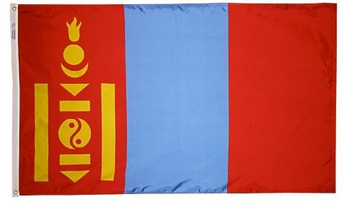 Mongolia outdoor flag for sale