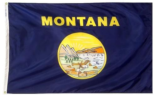 Montana Flag For Sale - Commercial Grade Outdoor Flag - Made in USA