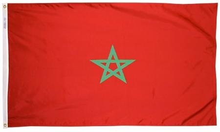 Morocco outdoor flag for sale