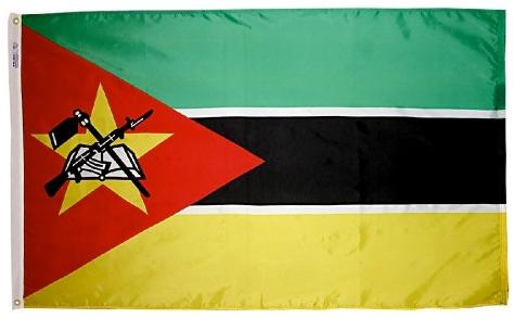 Mozambique outdoor flag for sale