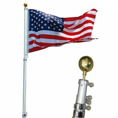 Topflight / Sunsetter 20' Telescoping Flagpole *Clearance*