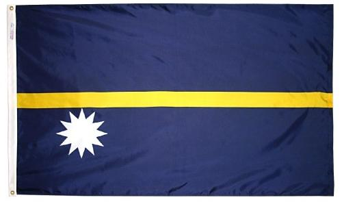 Nauru outdoor flag for sale