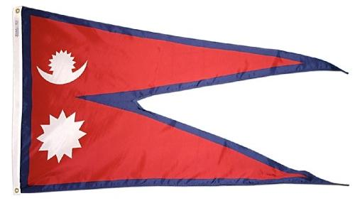 Nepal outdoor flag for sale