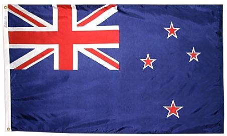 New Zealand outdoor flag for sale