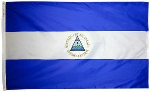 Nicaragua government outdoor flag for sale
