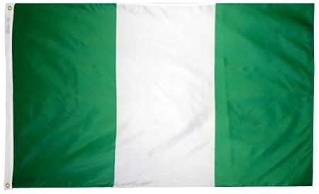 Nigeria outdoor flag for sale