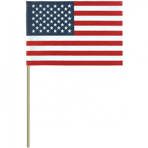 "4""x6"" Economy U.S. Mounted Flag"