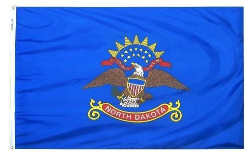 North Dakota Flag For Sale - Commercial Grade Outdoor Flag - Made in USA