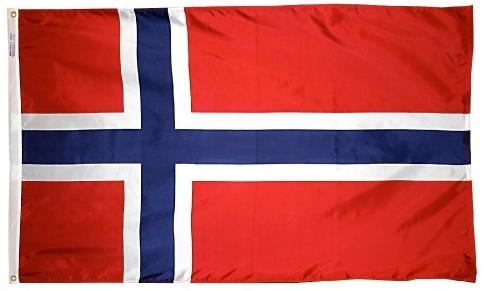 Norway outdoor flag for sale
