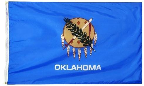 Oklahoma Flag For Sale - Commercial Grade Outdoor Flag - Made in USA