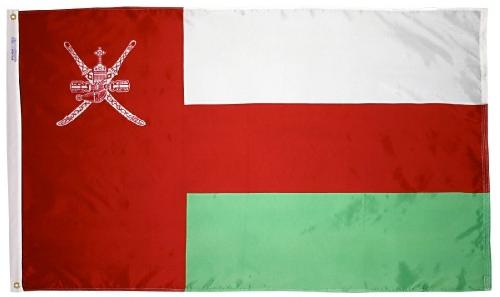 Oman outdoor flag for sale