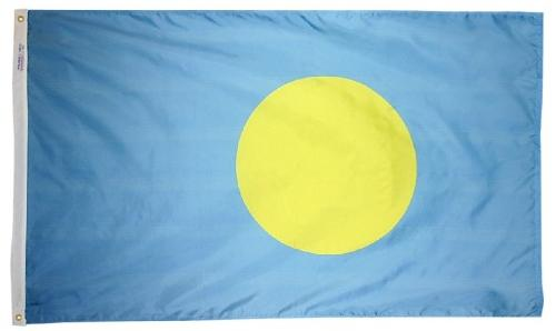 Palau outdoor flag for sale