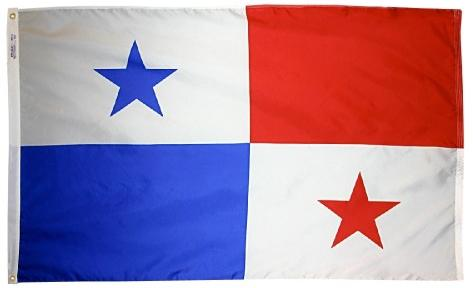 Panama outdoor flag for sale