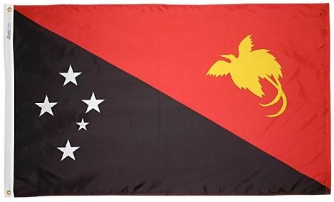Papua-New Guinea outdoor flag for sale